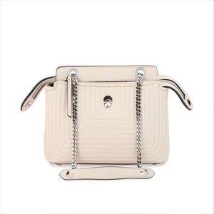 Fendi Dotcom Click Quilted Chain Shoulder Bag